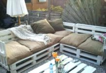 cuscini per divani pallet